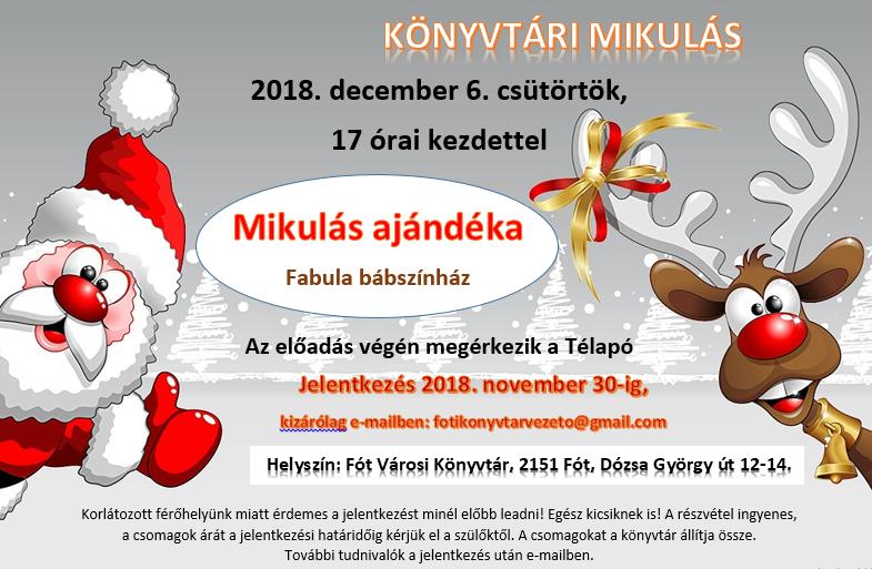 Mikulas plakat 2018